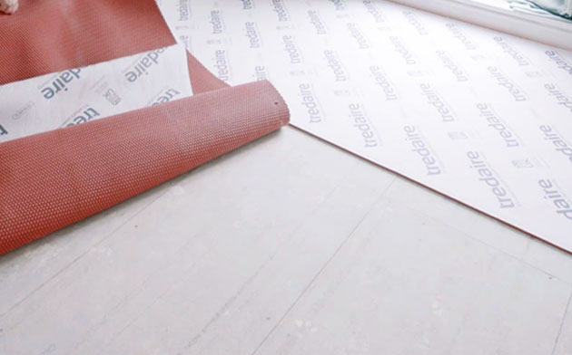 How to lay underlay guide