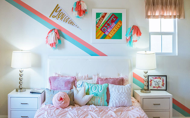 Quirky bedroom decoration ideas