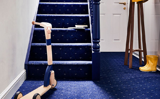 6 of the best hallway coloured carpets