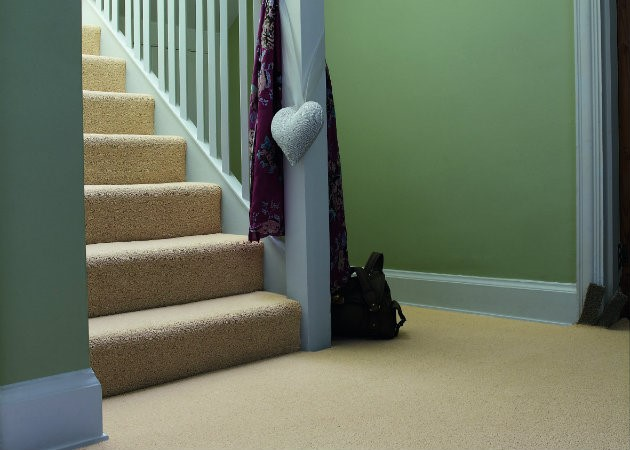 Neutral Stair Carpet