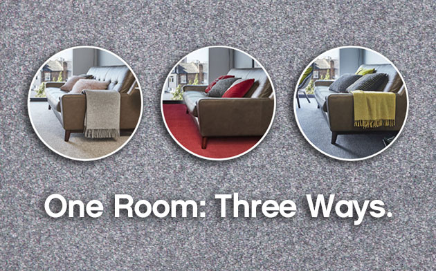 One Room Three Ways