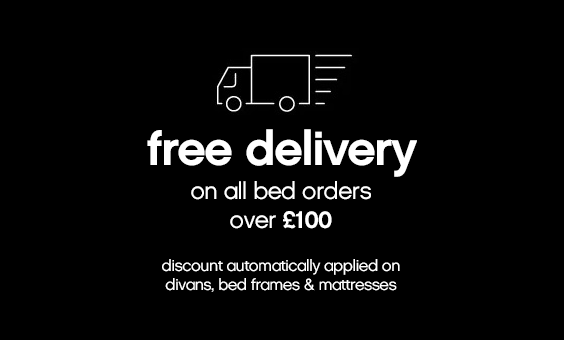 Free Delivery on Beds Orders Over £100
